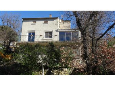 Villa BAGNOLS SUR CEZE, Quartier du Bosquet avec vue sur la ville., bagnols sur ceze